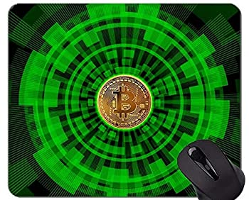 Gaming Mouse Pad,Money Bitcoin Cash Non-Slip Rubber Base Mousepad