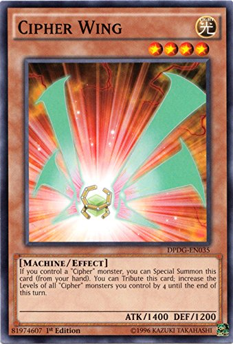 Yu-Gi-Oh! - Cipher Wing - DPDG-EN035 - Common - 1st Edition - Duelist Pack: Dimensional Guardians
