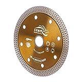 Tivivose Sierras de Diamantes sinterizadas de Blade Mesh Turbo Turbo Cutting Disco for cerámica de azulejo de mármol de Granito (Outer Diameter : 110mm)