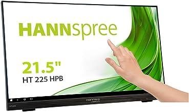 "HANNspree HT225HPB 54,6cm (21,5"") Multitouch-Monitor Full-HD 250cd VGA HDMI DP.."