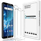 (3 Pack) Orzero Compatible for Cricket Icon 2 Tempered Glass Screen Protector, 9 Hardness HD (Lifetime Replacement)