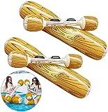 Juguetes de Balsa Inflable,Inflable Troncos,Juguete de Fiesta en la Piscina de Verano,Juguete de Flotador,Juguetes Inflables Para NiñOs y Adultos,Piscina Deportes AcuáTicos,Flotador de Playa