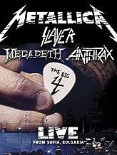 Metallica/Slayer/Megadeth/Anthrax : The Big 4 - Live from Sofia, Bulgaria  Set