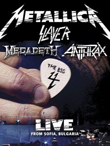 Metallica/Slayer/Megadeth/Anthrax : The Big 4 - Live from Sofia, Bulgaria (5 CD/2 DVD Set)