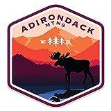 'Merica Clothing Co. Adirondack Mountains - Sticker