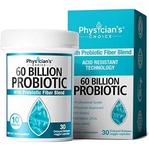 Probiotics 60 Billion CFU - Dr. Approved Probiotics for Women, Probiotics for Men and Adults,...