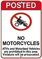 二輪車のATVと電動車両は、アルミニウムの金属看板で禁止されていません