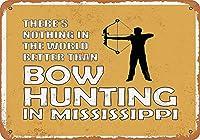 Bow Hunting 金属板ブリキ看板警告サイン注意サイン表示パネル情報サイン金属安全サイン