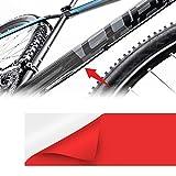 Rotolo Nastro Adesivo Scudo Roll per Protezione Telaio Bicicletta, Spessore 0.8 mm, 5 x 50 cm