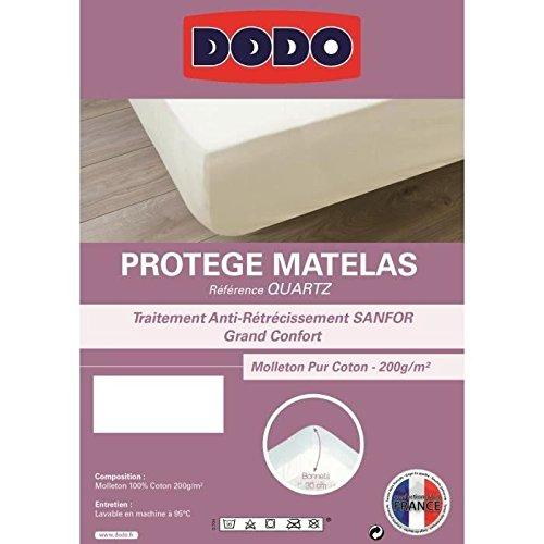 DODO - Protège matelas Quartz 180x200cm bonnet 30cm