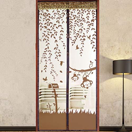 Sommer Haushalt langlebige magnetische Anti-Insekten-Moskitonetz Tür Vorhang Trennwand Küche Fenster Vorhang Anti-Moskito-Tür Bildschirm A4 B80xH210
