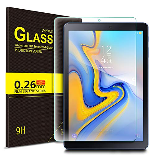 IVSO Screen Protector for Samsung Galaxy TAB A 8.0 2018 T387,Scratch-Resistant 9H Hardness HD Clear Tempered Glass Screen Protector for Samsung Galaxy TAB A 8.0 2018 T387 Tablet (Clear)