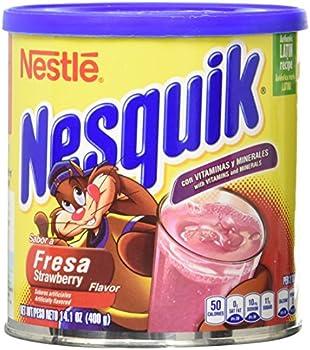 Nesquick Strawberry Flavored Powder