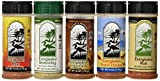 Everglades Seasoning All Purpose Sampler Cactus Dust Heat Fish and Chicken Rub, 6 oz./8 oz., 5 Count