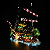 Lightailing Light Set for (Ideas Pirates of Barracuda Bay Building Blocks Model - Led Light kit Compatible with Lego 21322(NOT Included The Model)
