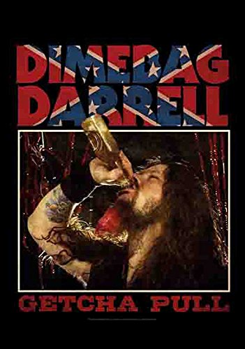 Dimebag Darrel - Jetcha Pull Pantera - Poster Interactive - Drapeau 100% Polyester - 75 x 110 cm