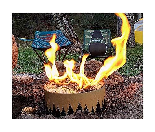 Portable Campfire Survival Gear Preparedness - Fire in a Can | Bigs e Biz