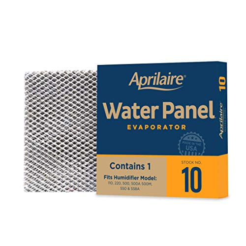 Aprilaire - 10 10 10 Replacement Water Panel for Whole House Humidifier Models 110, 220, 500, 500A, 500M, 550, 558 (Pack of 10)