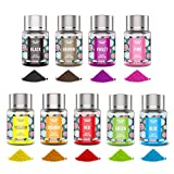 Powder Food Coloring for Cake Decorating - 9 Colors Oil Water Based Powdered Food Dye Cake Color for...