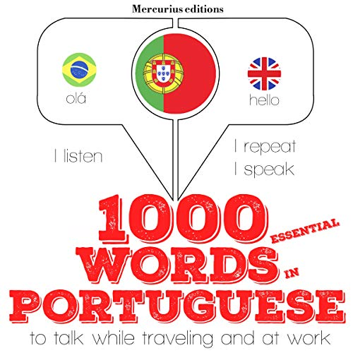 1000 essential words in Portuguese  By  cover art