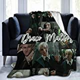 PANDASTYLE Draco-Malfoy Suitable for Draco-Malfoy Wool Blanket Blankets in All Seasons. Super Soft Plush Blanket for Winter Bedding Sofa 60'x50'