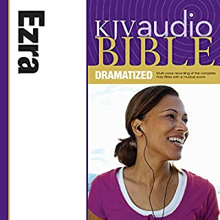 Dramatized Audio Bible - King James Version, KJV: (14) Ezra audiobook cover art