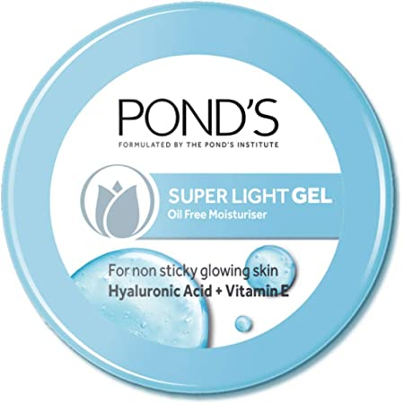 POND'S Super Light Gel Face Moisturiser with Hyaluronic Acid and Vitamin E, 147 g
