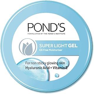 POND'S Super Light Gel Face Moisturiser with Hyaluronic Acid and Vitamin E, 147 g