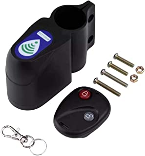 Niome Bicycle Alarm Smart Wireless Remote Control 110dB Vibration Sensor Burglar Anti-Theft Bike Lock Guard