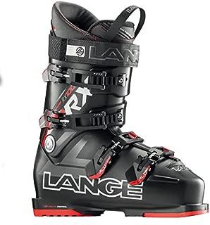 Lange RX 100 L.V. Ski Boot Men's Black/Red 25.5
