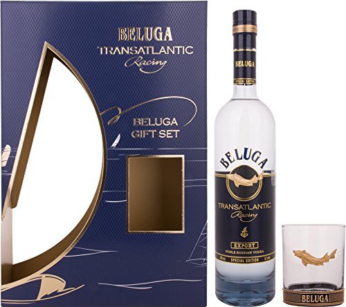 Beluga Beluga Transatlantic Racing Noble Russian Vodka 40% Vol. 0,7L In Giftbox With Glass - 700 ml