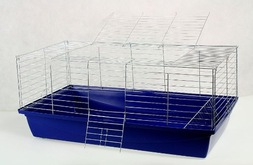 Nagerkäfig,Hasenkäfig,Meerschweinkäfig,Käfig,Rabbit,Zwergkaninchen ca. 120x60x43 cm