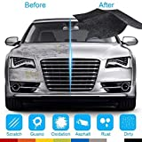 LOAER Nano Material Surface Automabile Deep Paint Scratches RemoverMagic Car Scratch Repair Cloth Herramientas de reparación de Esmalte de automóviles