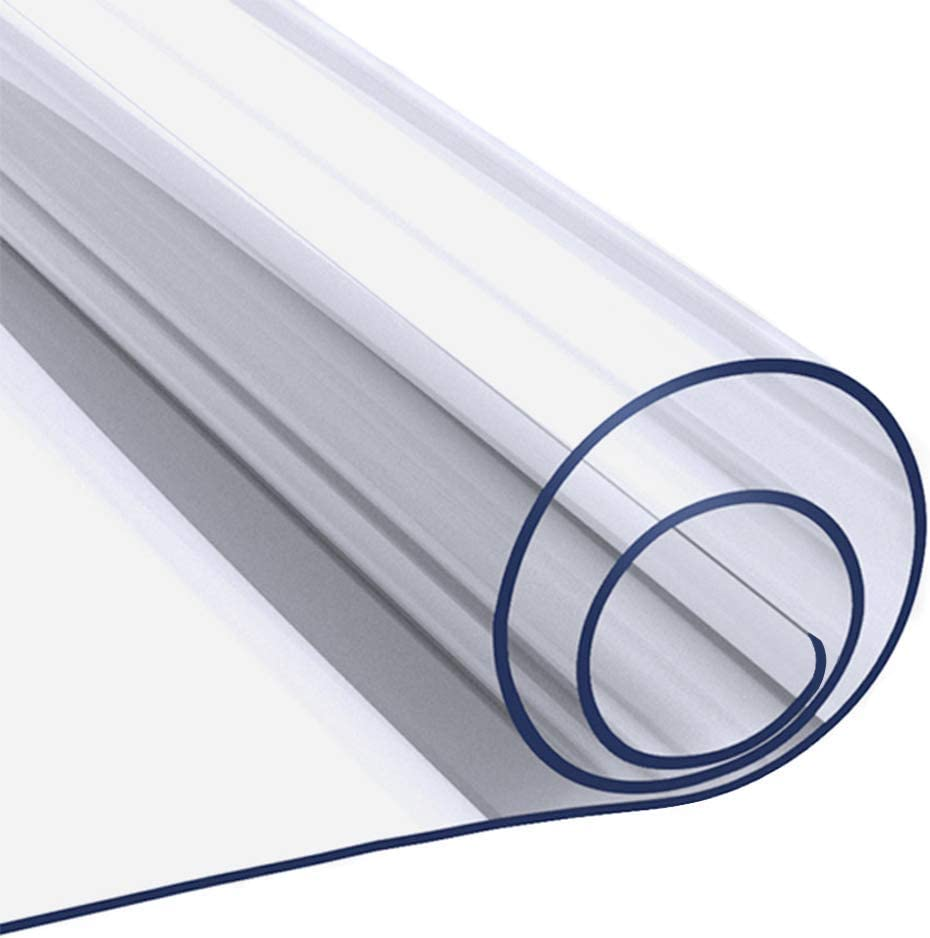 60 Popular standard x 120 Max 69% OFF Inch 2mm Table Protector Wipeable Cloth Thick Rectangle