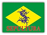 valstick Sepultura Music Car Bumper Sticker Decal