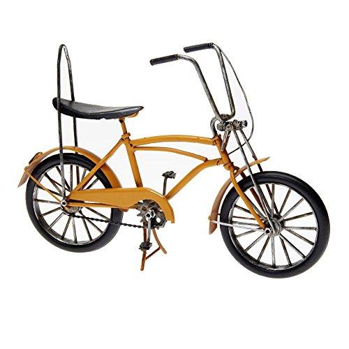 Pamer-Toys Modellfahrrad aus Blech - im Antik-Vintage-Retro-Style - Bonanza Fahrrad, orange