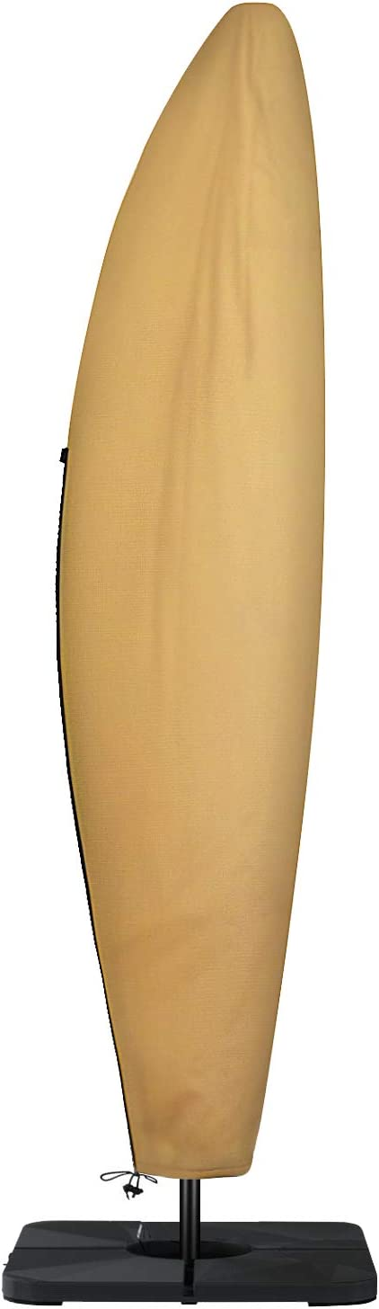 Sunkorto Cantilever Umbrella Popular brand Cover Offset Waterproof C Excellent