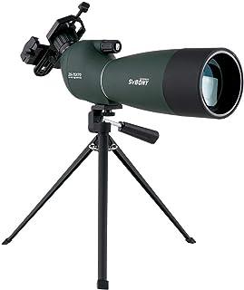 SVBONY SV28 フィールドスコープ スポッティングスコープ バードウォッチング 単眼望遠鏡 アーチェリー、野鳥観察、星空観察