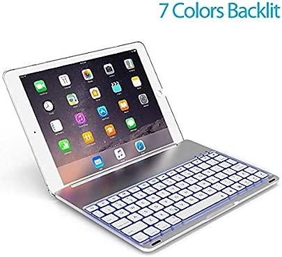 DDDD store Bluetooth-Tastaturh lle f r iPad 9 7-Zoll-iPad Air ipad Air2 ipad pro9 7 ipad-ultrad nne Tastaturtasche mit magnetischer Abnehmbarer kabelloser Tastatur