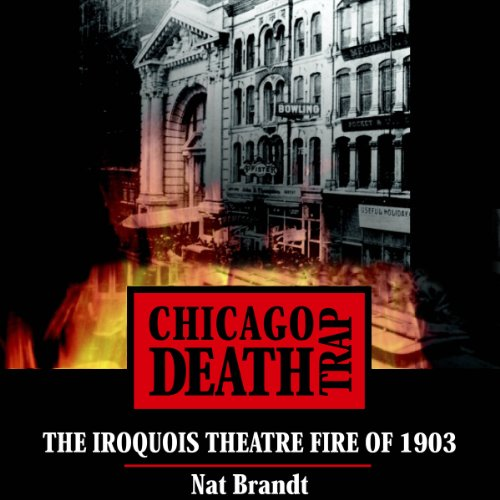 Chicago Death Trap audiobook cover art