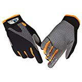 CFTech Ultimate Frisbee Gloves Ice Silk Breathable Cycling Gloves Non-Slip - Ultimate Grip and Friction to Enhance Your Game! Also for Riding Fitness Training Outdoor Sports (S)