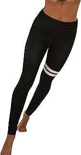 HARRYSTORE Mujer pantalones deportivos y elásticos de