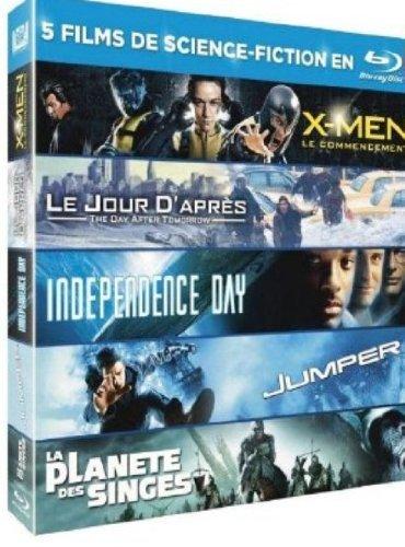 X-Men / Le Jour d'après / Indépendance Day / Jumper / La Planète des Singes [Blu-ray]