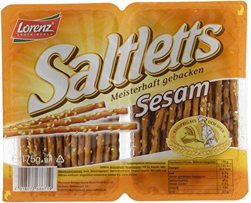 Lorenz Snack World Saltletts Sticks Sesam, 7er Pack (7 x 175 g)