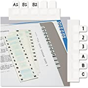 Redi-Tag, RTG31005, Permanent Alphabetical Tab Indexes, 104 / Pack