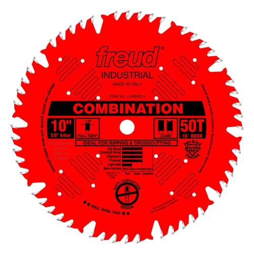 """Freud 10"""" x 50T Combination Blade (LU84R011)"""