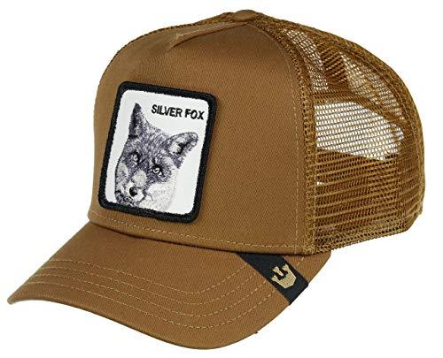 Goorin Bros. Trucker Cap Silver Fox Braun, Size:ONE Size