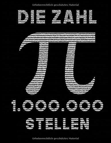 Die Zahl pi: 1.000.000 Stellen