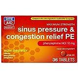 Rite Aid Sinus Pressure and Congestion Non-Drowsy...