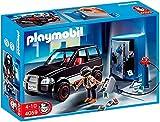 PLAYMOBIL- Thief with Safe and Getaway Car Cars Ladrón de Caja Fuerte con Coche, Multicolor (4059)